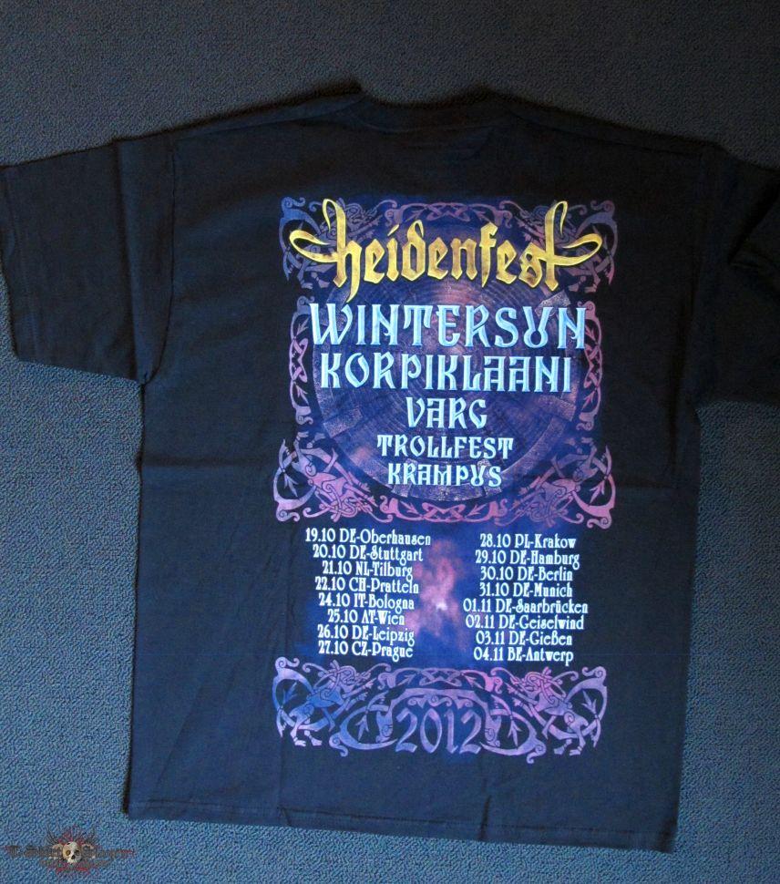 Heidenfest - Tour Shirt 2012