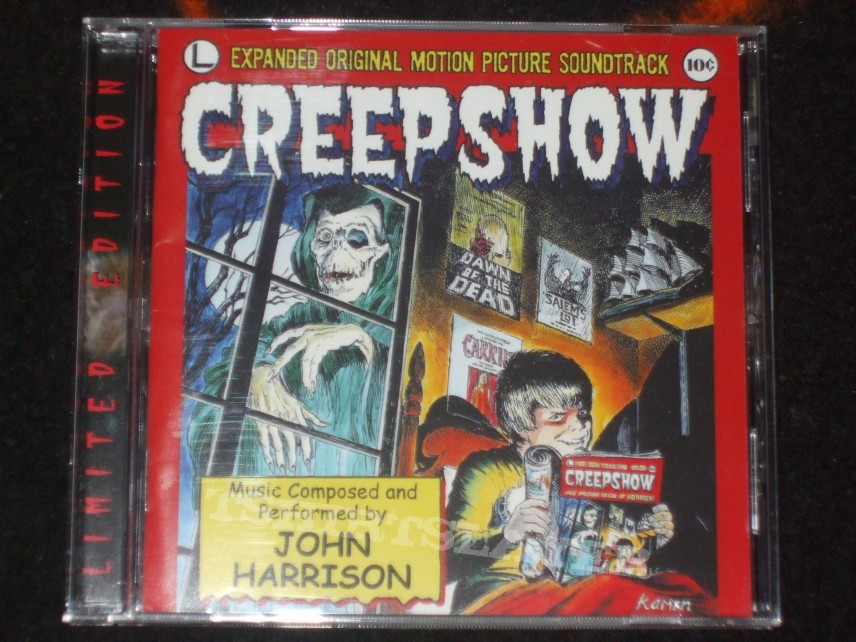 Creepshow Movie Soundtrack Creepshow Expanded Original Soundtrack John Harrison Limited Edition cd