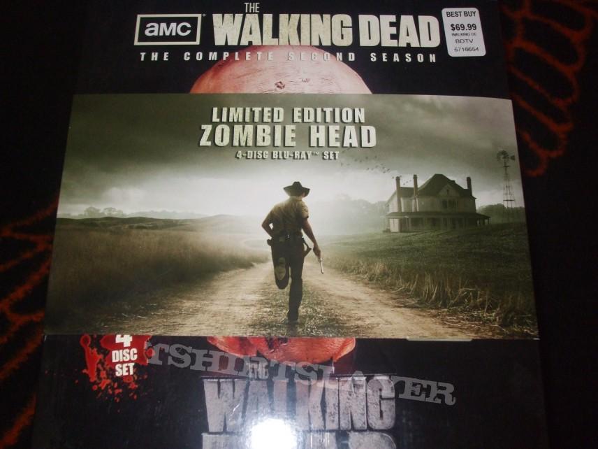 Walking Dead Season 2 Zombie Head Limited Blu Ray Box Set