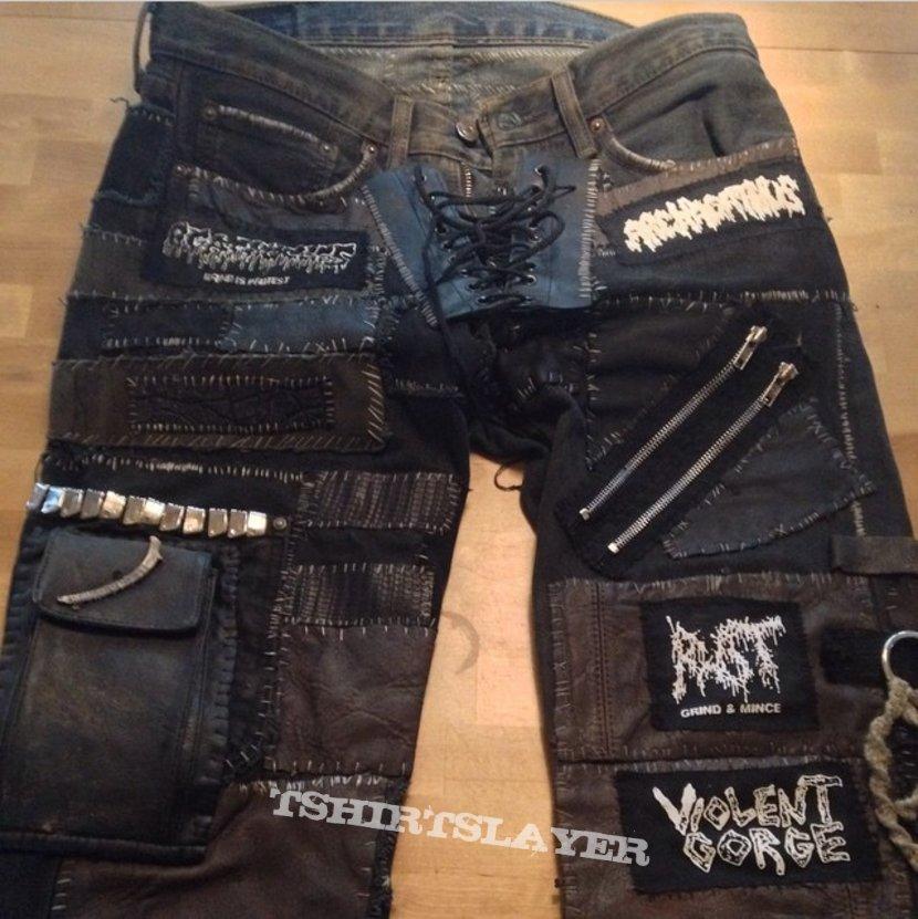 Grind / black metal pants update