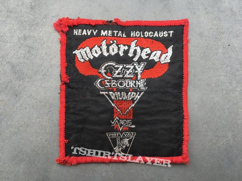 Heavy Metal Holocaust 81 festival patch
