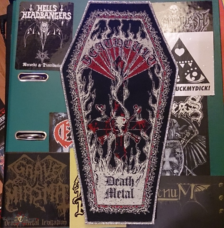Deathcult Coffin Backpatch