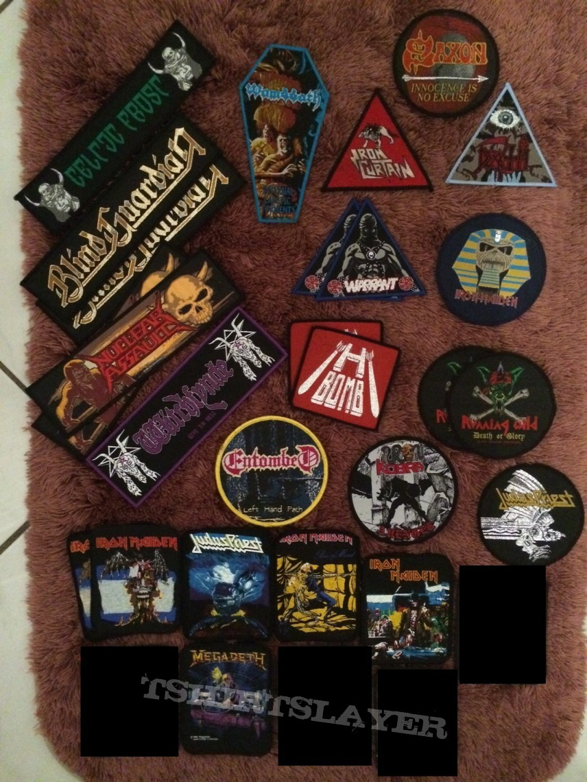 Patches for trade or sale (multiple pictures)