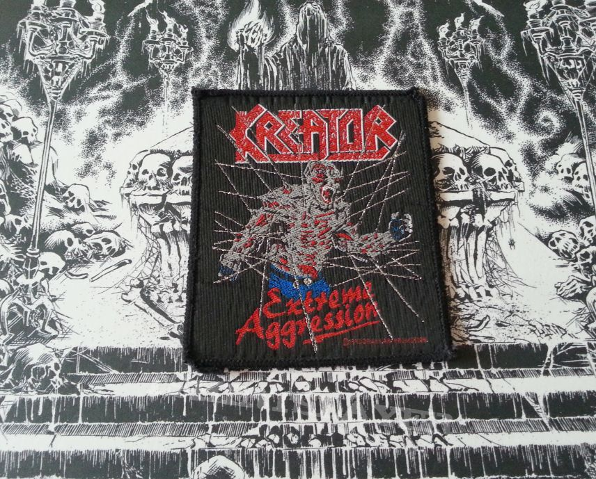 Kreator - Extreme Aggression ( Patch )
