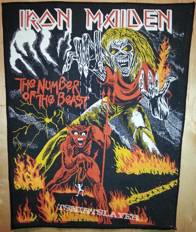 darkness unseen s iron maiden iron maiden the number of the beast