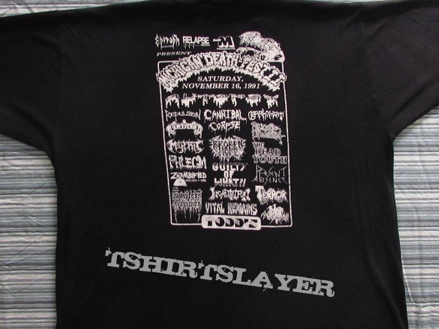 Michigan Deathfest t-shirt