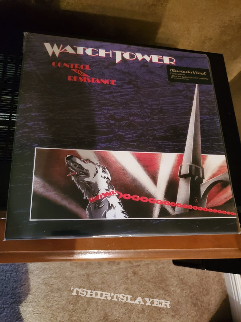 Watchtower: Control and Resistance vinyl
