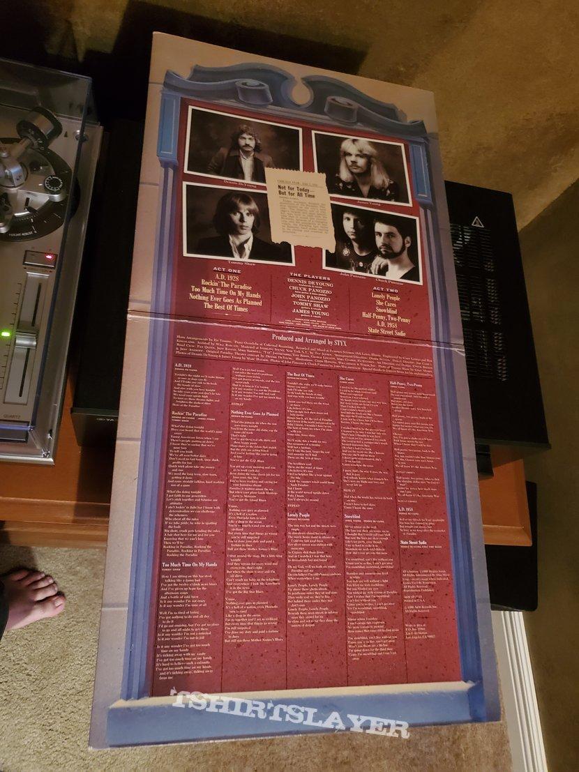 Styx: Paradise Theatre vinyl