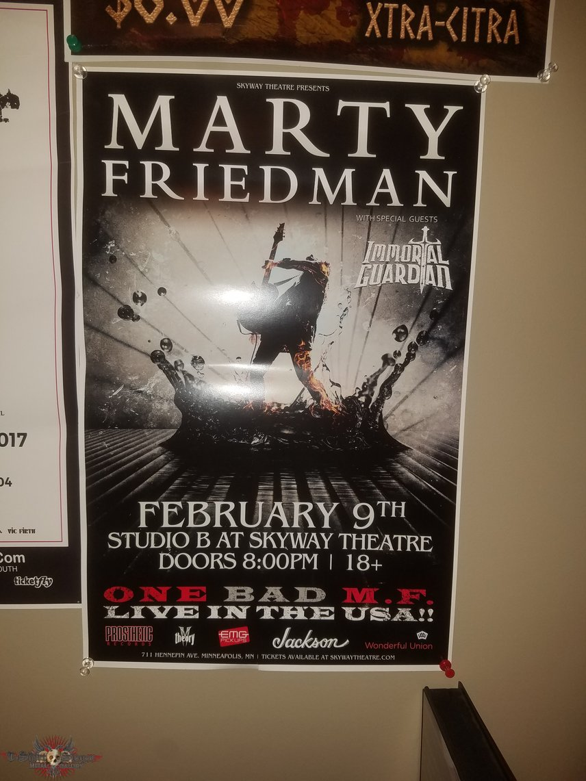 One Bad MF Live poster at Skyway