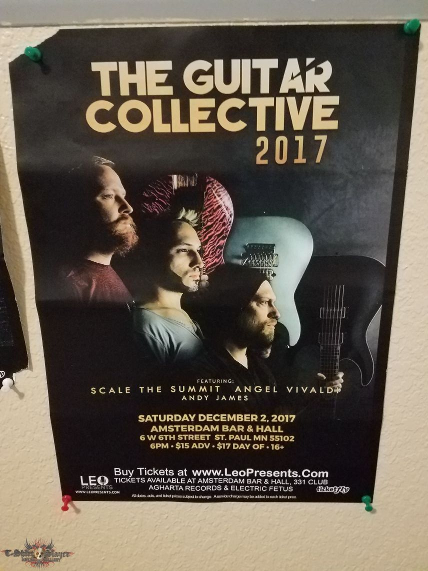 The Guitar Collective 2017: Gig Poster