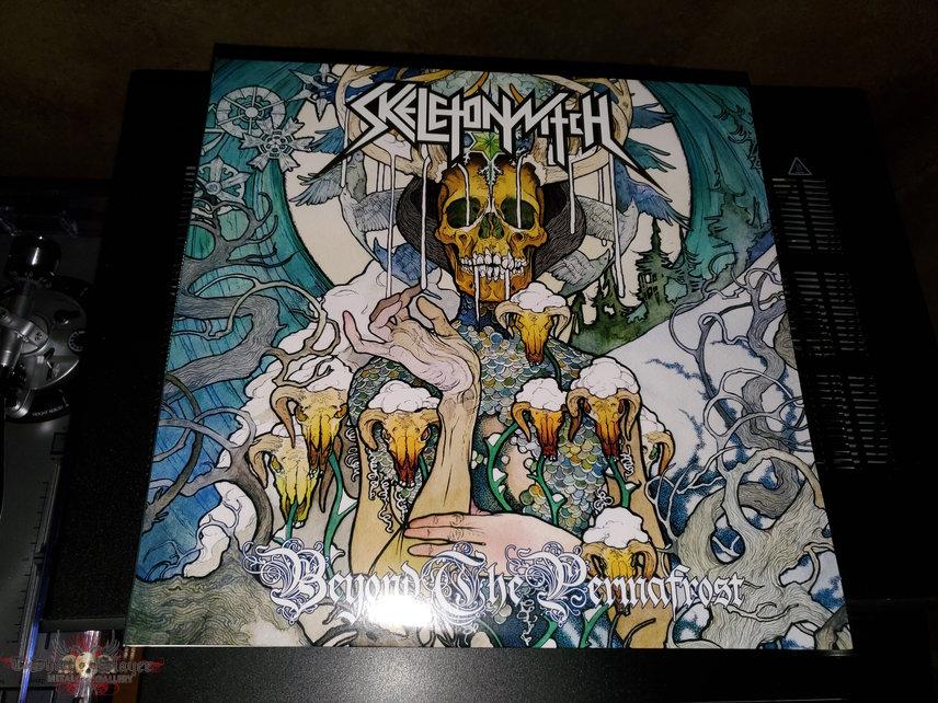 Skeletonwitch: Beyond the Permafrost splatter vinyl