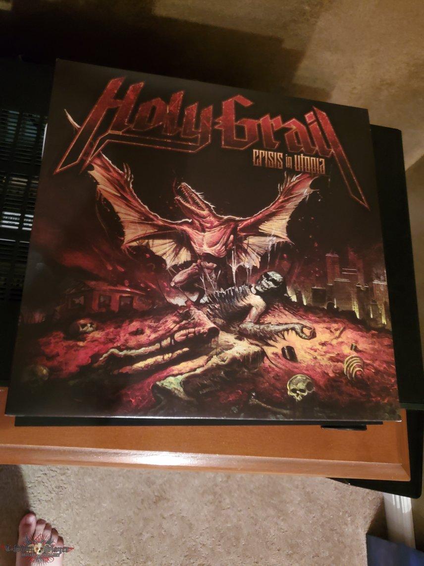 Holy Grail: Crisis in Utopia vinyl