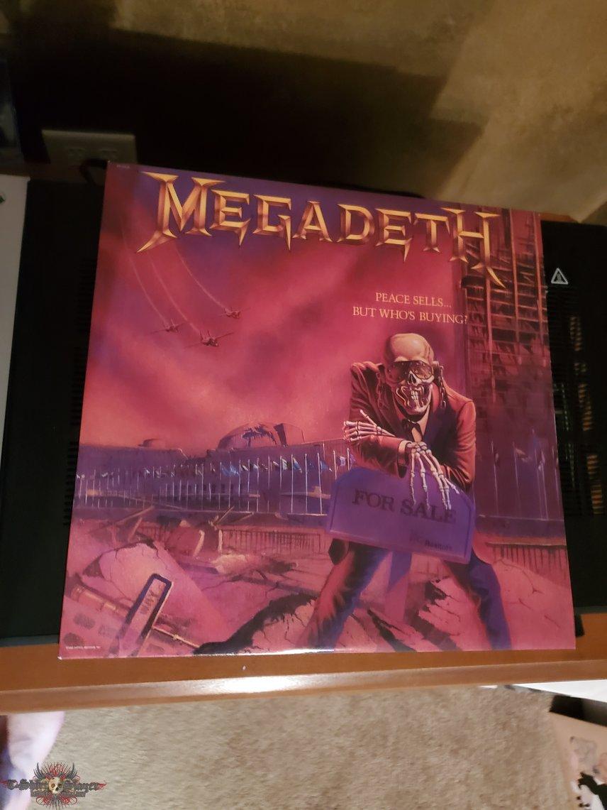 Megadeth: Peace Sells Purple vinyl