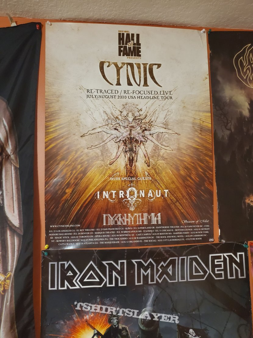 Cynic: Re-Traced Re-Focused Tour poster