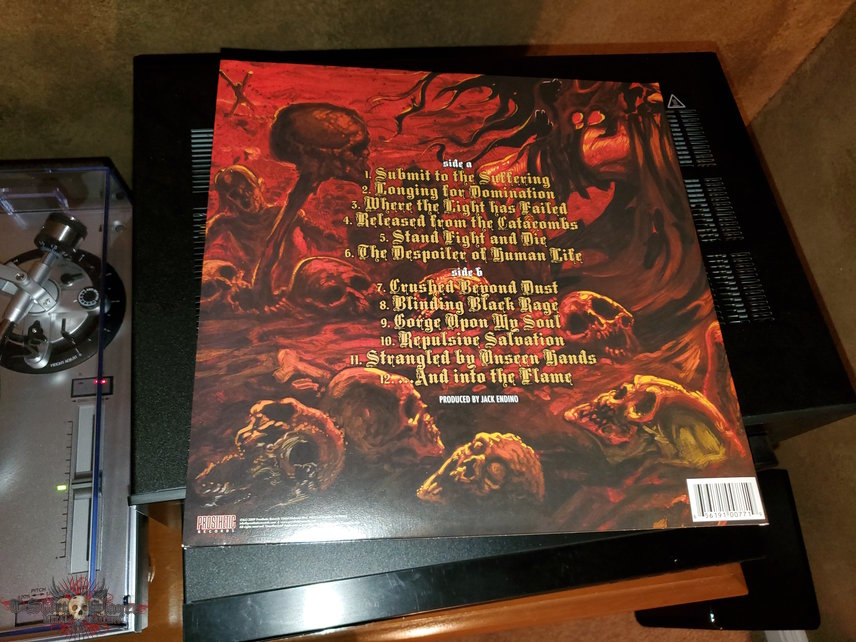 Skeletonwitch: Breathing the Fire vinyl