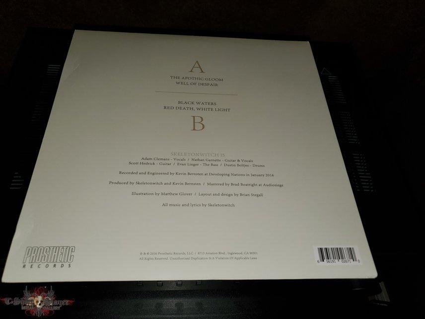 Skeletonwitch: The Apothic Gloom vinyl