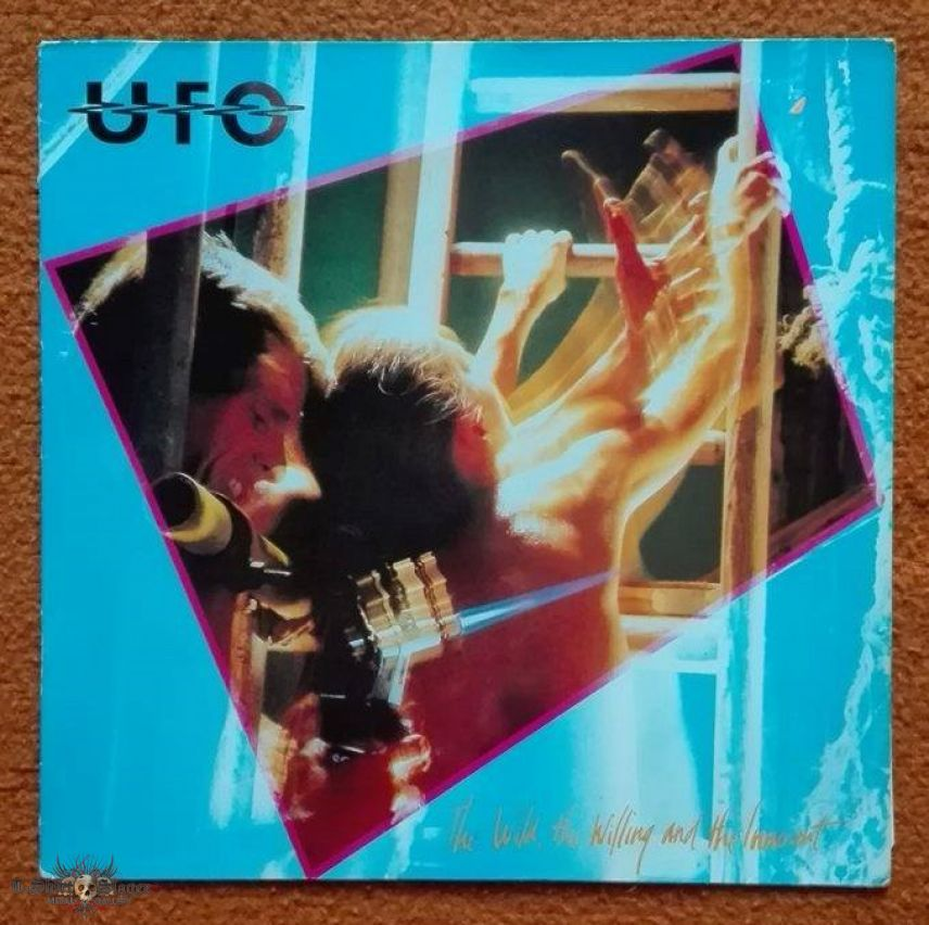 UFO - The Wild, The Willing and The Innocent LP 1981