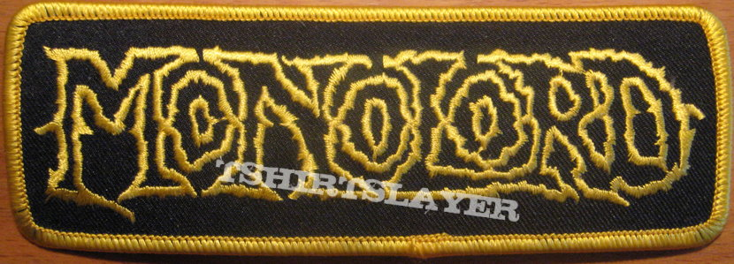 Monolord logo patch