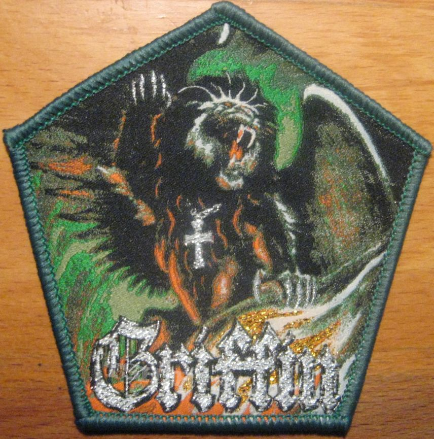 Griffin Flight of the Griffin patch with green border