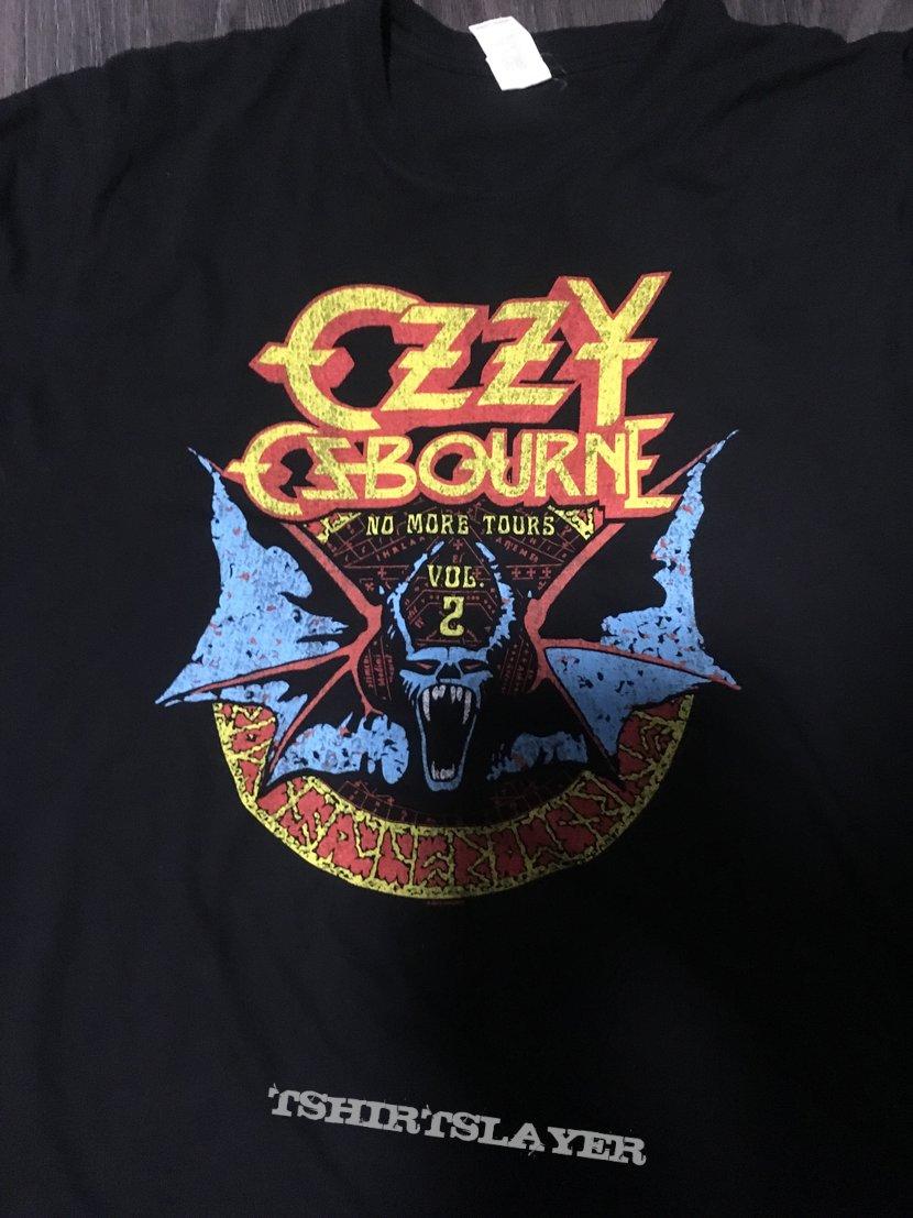 35f700f2 Ozzy Osbourne - No More Tours 2018 Tour Shirt | TShirtSlayer TShirt ...