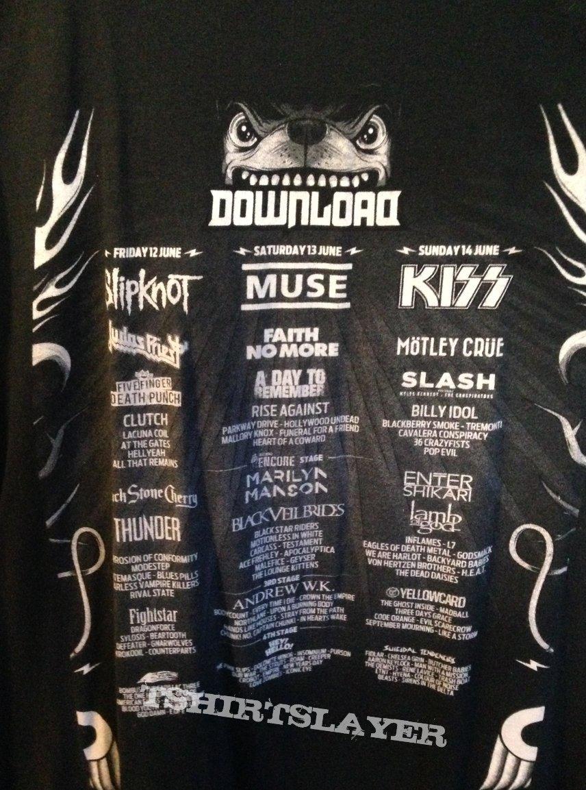 Download Festival 2015 Shirt