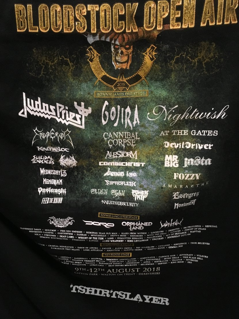 Bloodstock Open Air 2018 Shirt