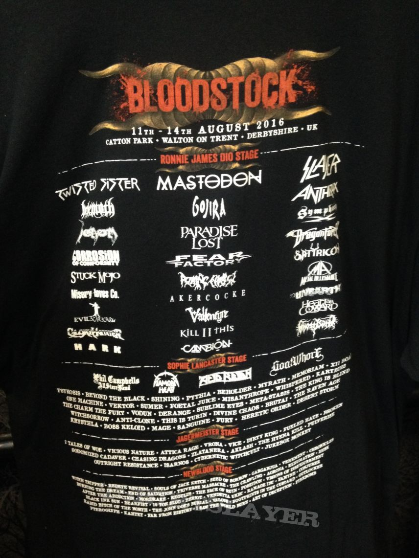 Bloodstock Open Air 2016 Shirt