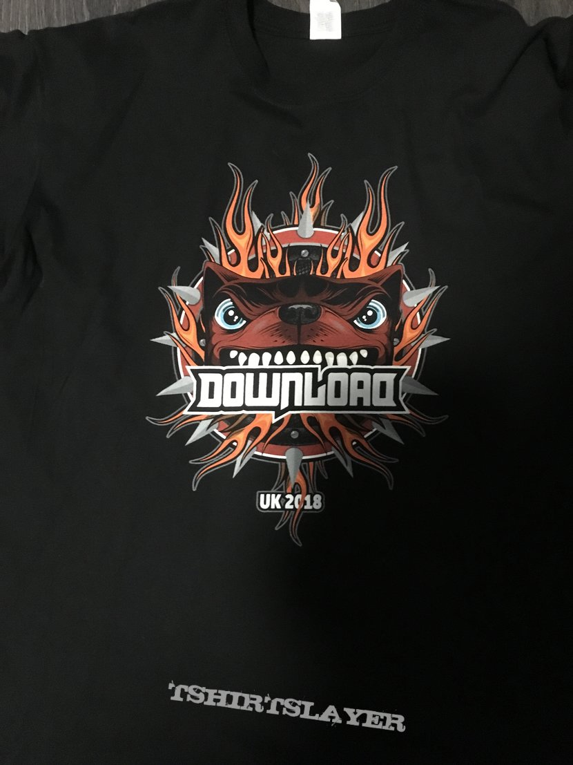 f2c82462 Download Festival 2018 Shirt | TShirtSlayer TShirt and BattleJacket ...