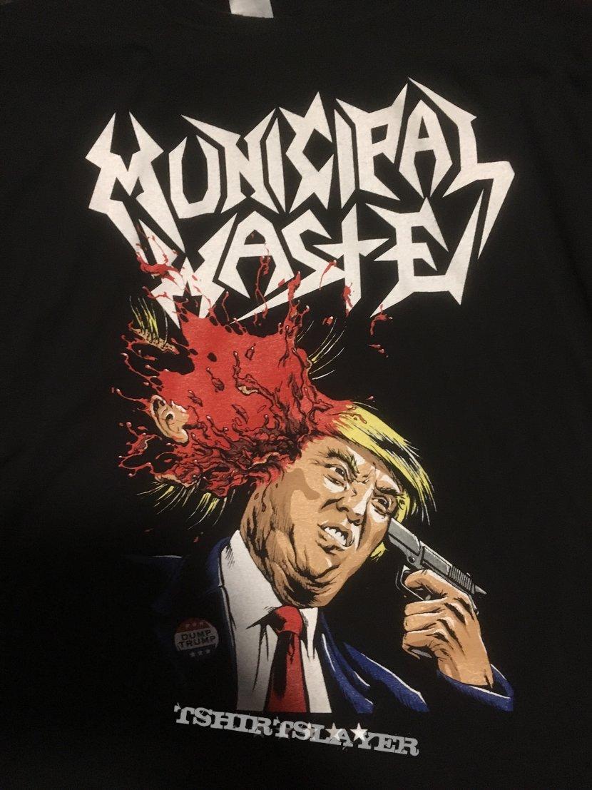 Municipal Waste - Donald Trump Shirt