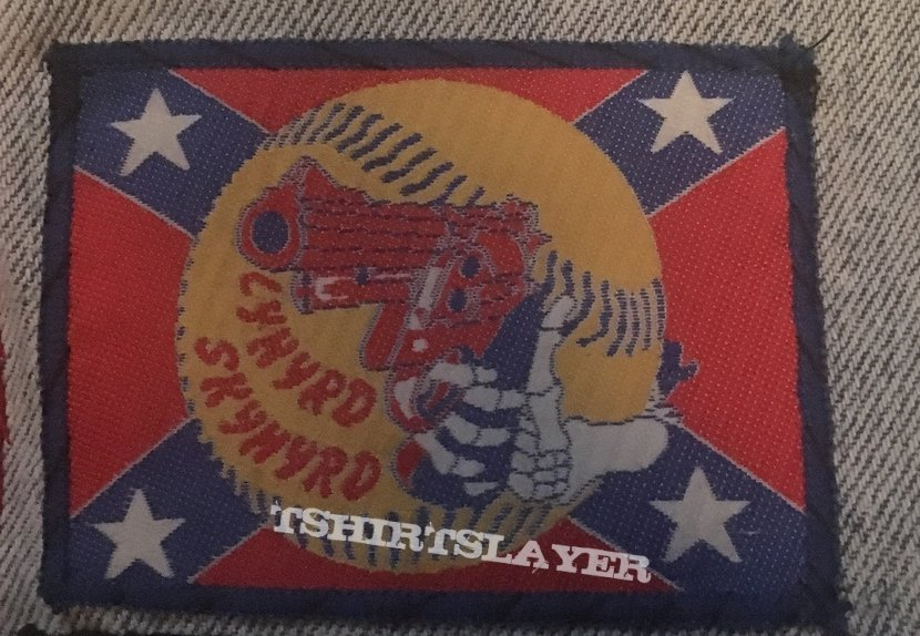 Lynyrd Skynyrd Gun Patch