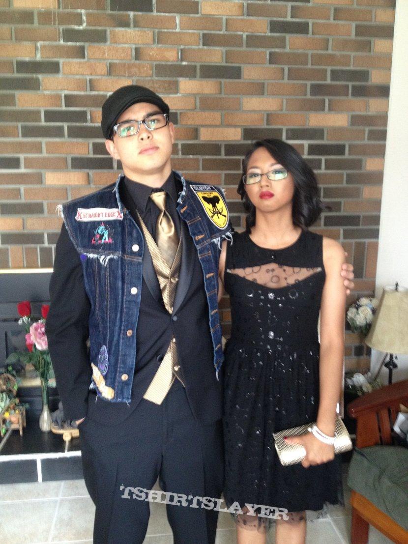 Random Vest pic before prom ( Small update )