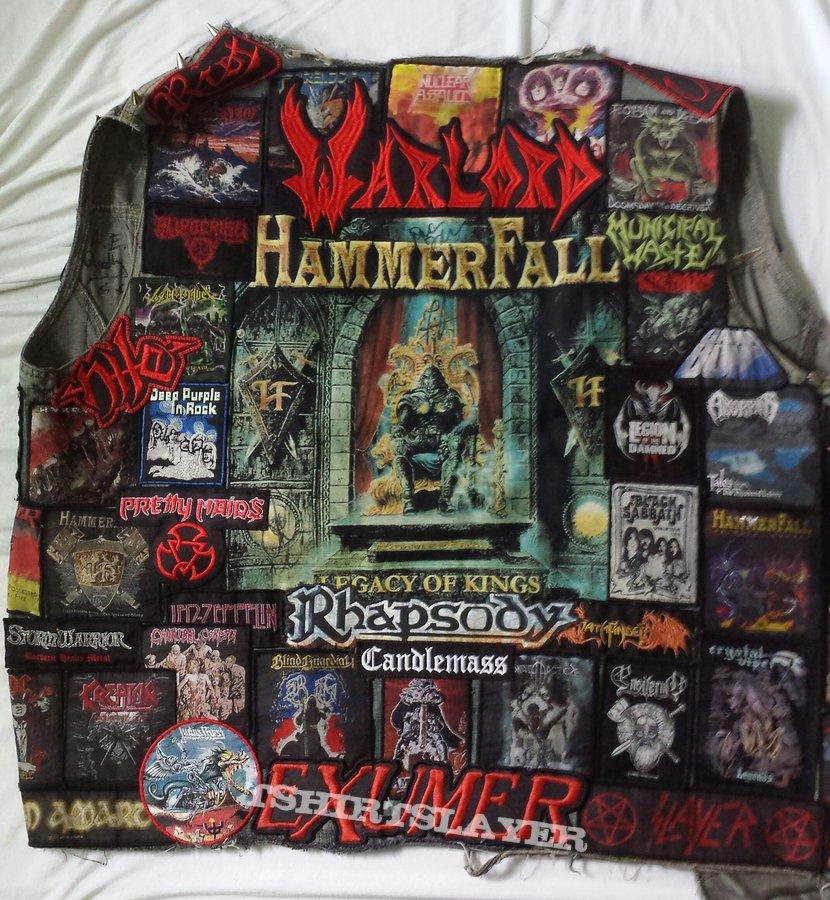 My Battle Jacket - Front/Back/Inside
