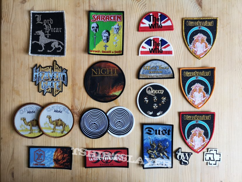 Rare and limited Patches