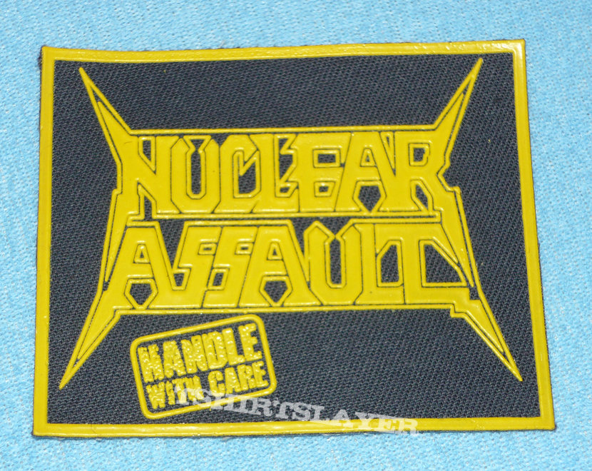 Nuclear Assault - Handle with care rubber patch