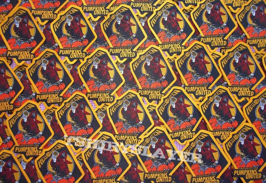 bc6d8355 HELLOWEEN Pumpkins United World Tour 2017/2018 Patch | TShirtSlayer TShirt  and BattleJacket Gallery