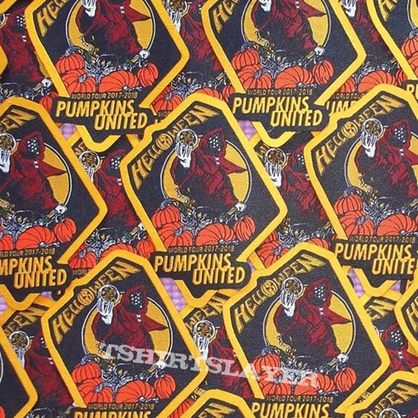 b8f5359a HELLOWEEN Pumpkins United World Tour 2017/2018 Patch. Band(s):. Helloween