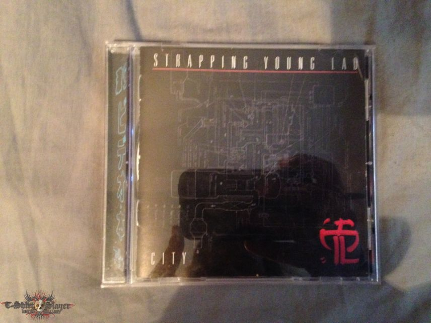 Strapping Young Lad City CD
