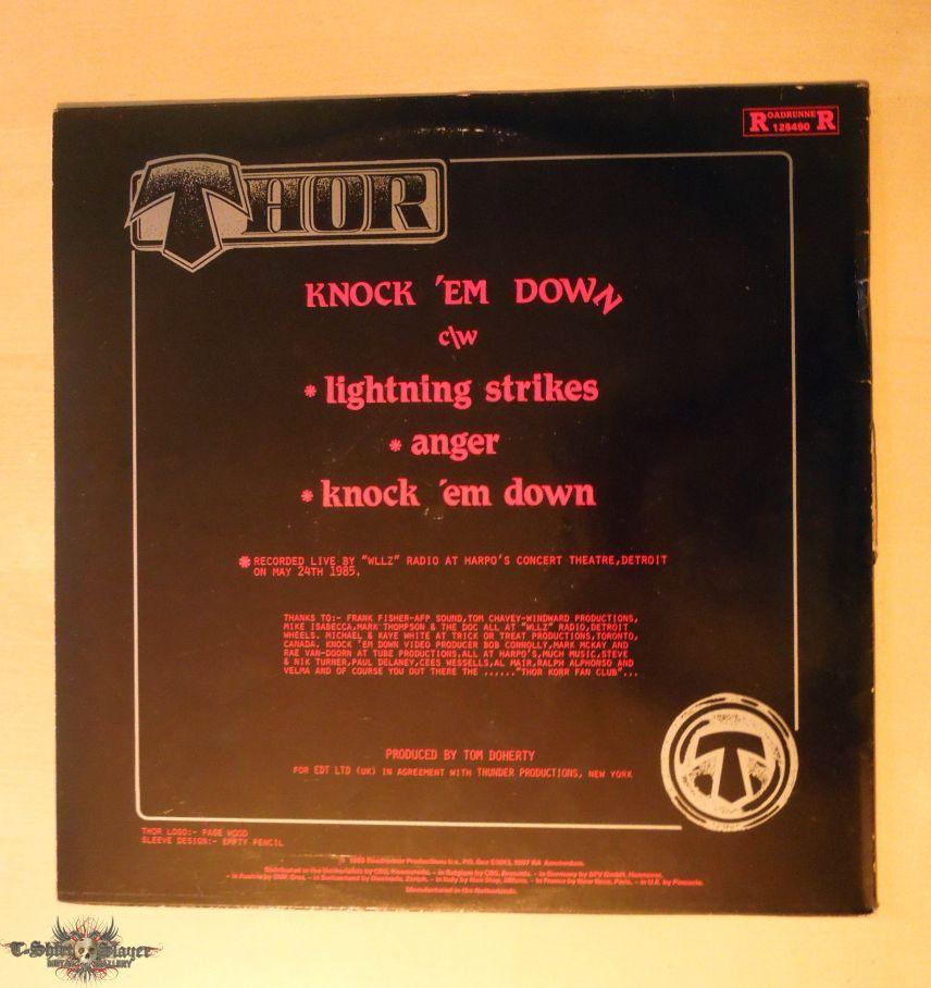Thor - Knock 'em Down  LP