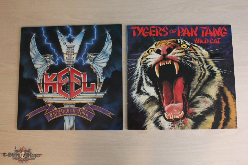New Vinyls -  Keel & Tygers of Pan Tang