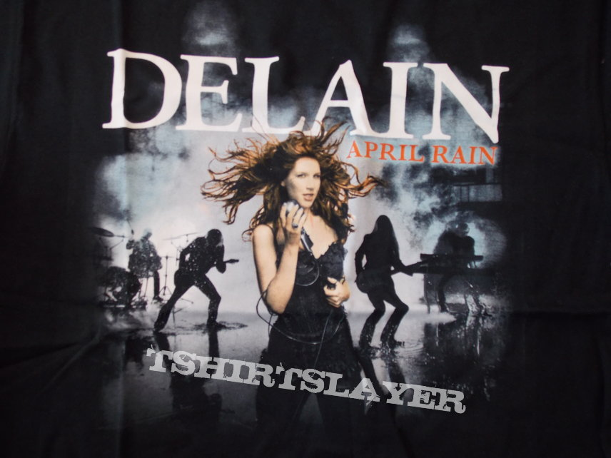 April Rain album shirt