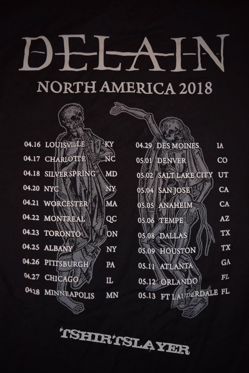 North American Tour 2018 Shirt #3