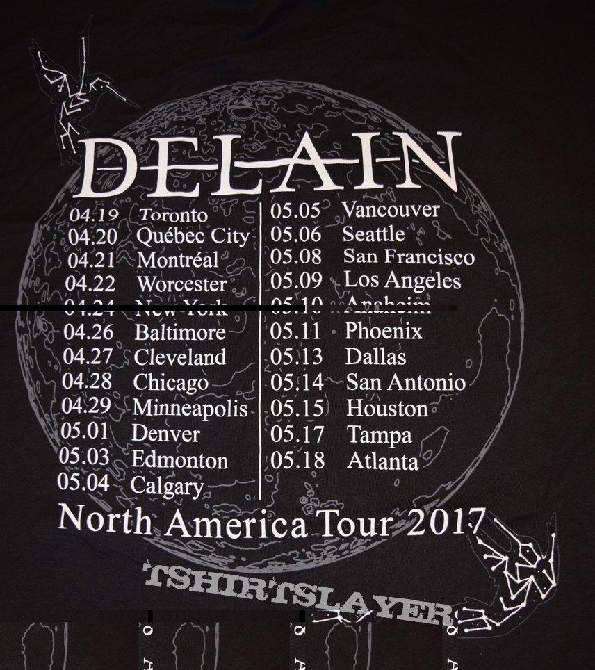Moonbathers US Tour 2017 Shirt #4