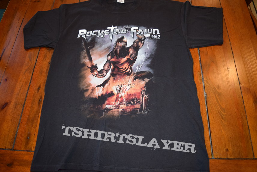 RockStad Falun 2012 Festival Shirt - Size L - Unworn, New