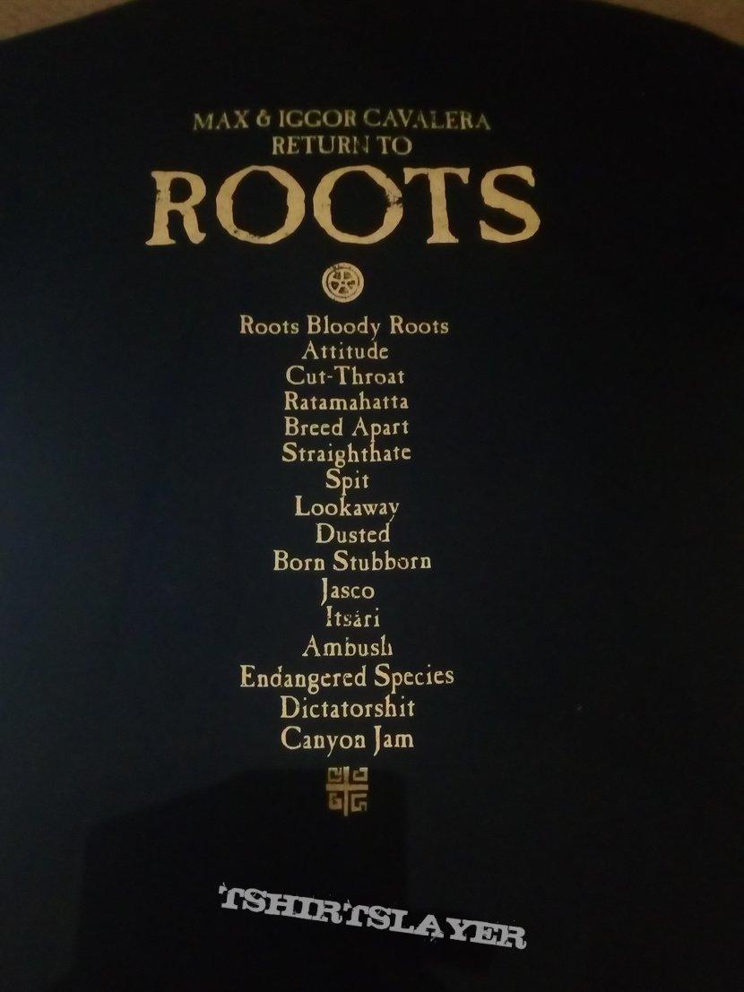 bec2b06f5f Max   Iggor Cavalera Return to Roots tour shirt