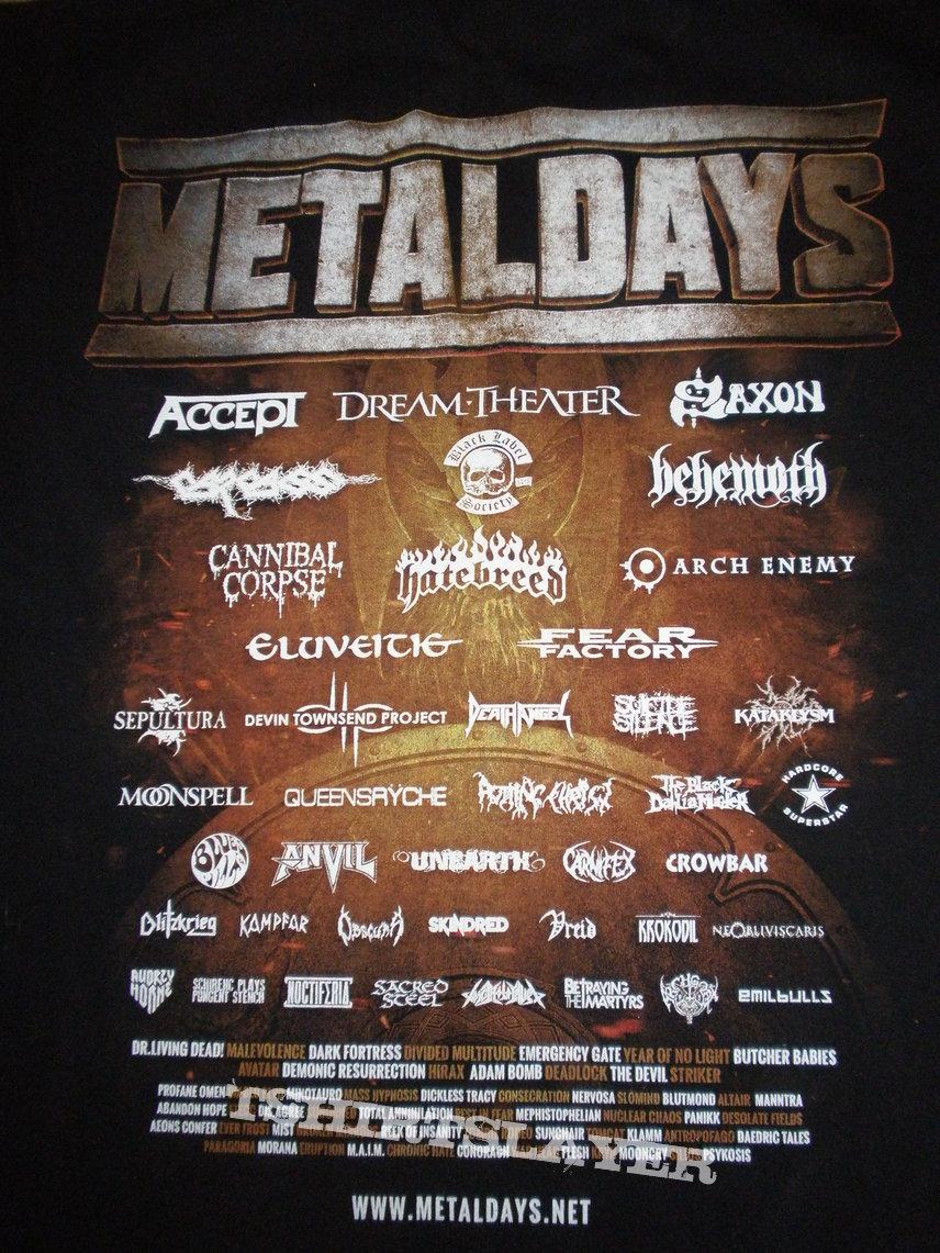 Metaldays 2015 shirt