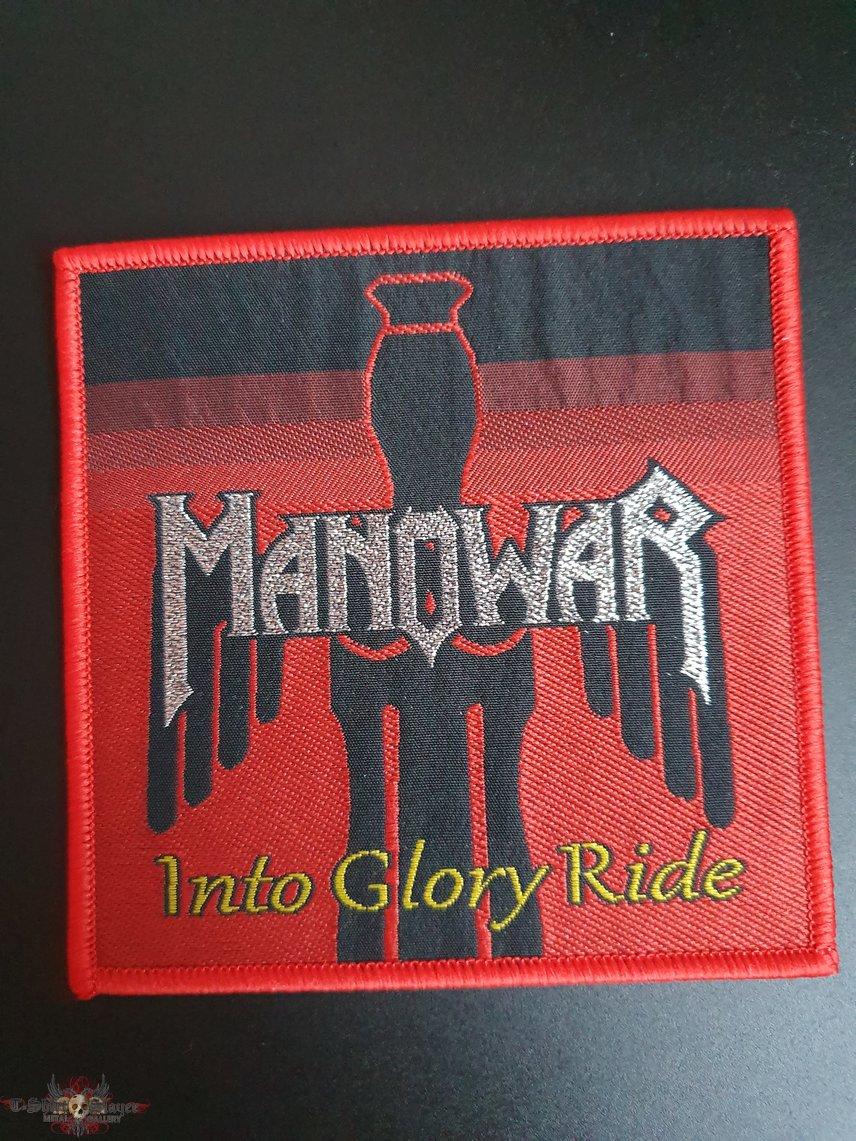 Manowar - Into Glory Ride patch