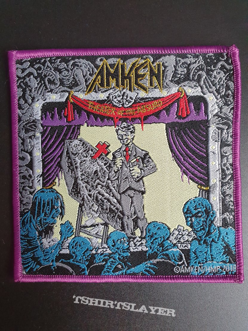 Amken - Theater of the Absurd patch