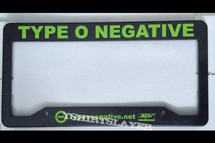 Type O Negative - License Plate Frame