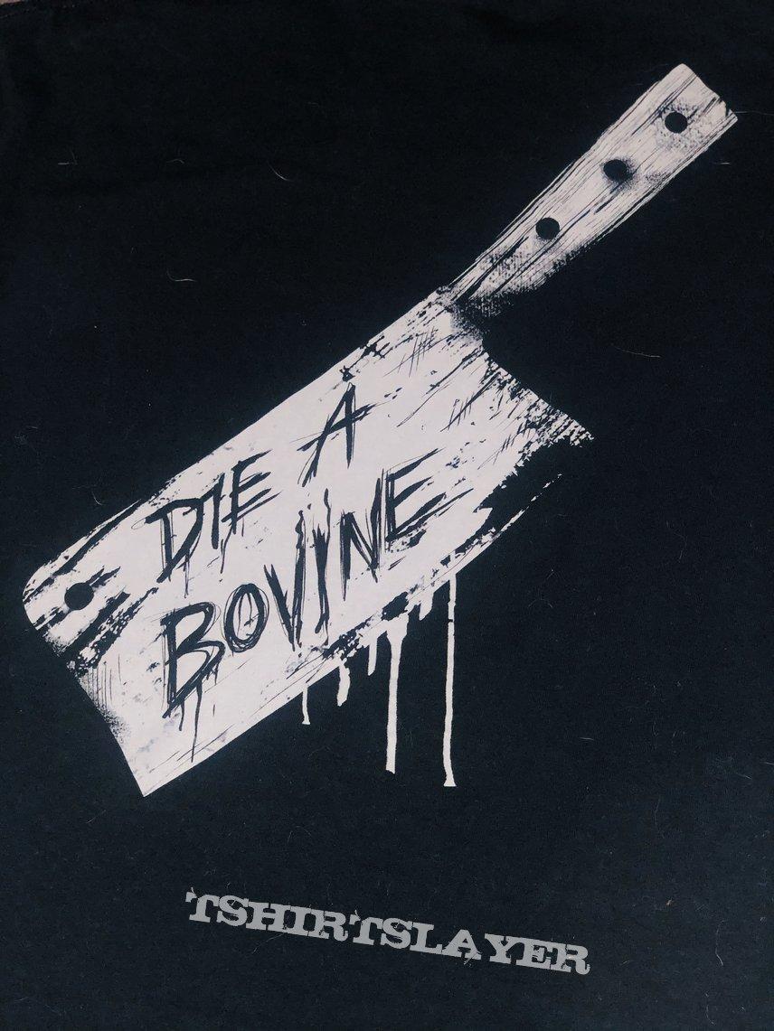 Cattle Decapitation Tshirt - Die A Bovine (grey)