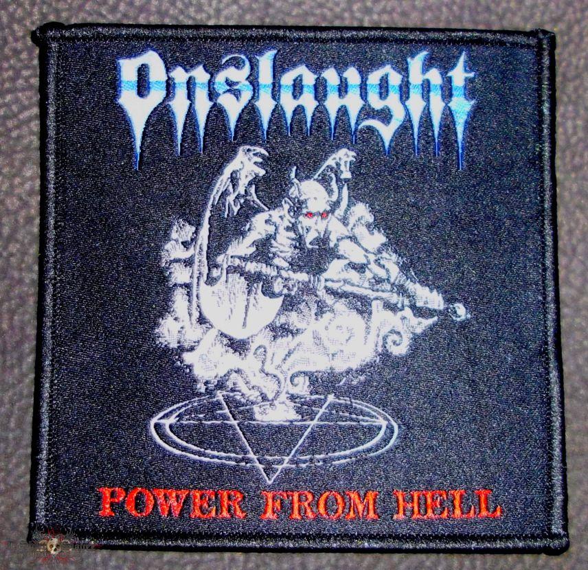 "Power from hell ""the true metal"" stripe | tshirtslayer tshirt and."